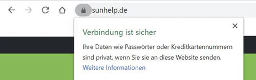 Sichere Verbindung mit HTTPS