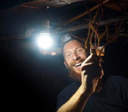 SunHelp: LED Leuchte mit Solarenergie