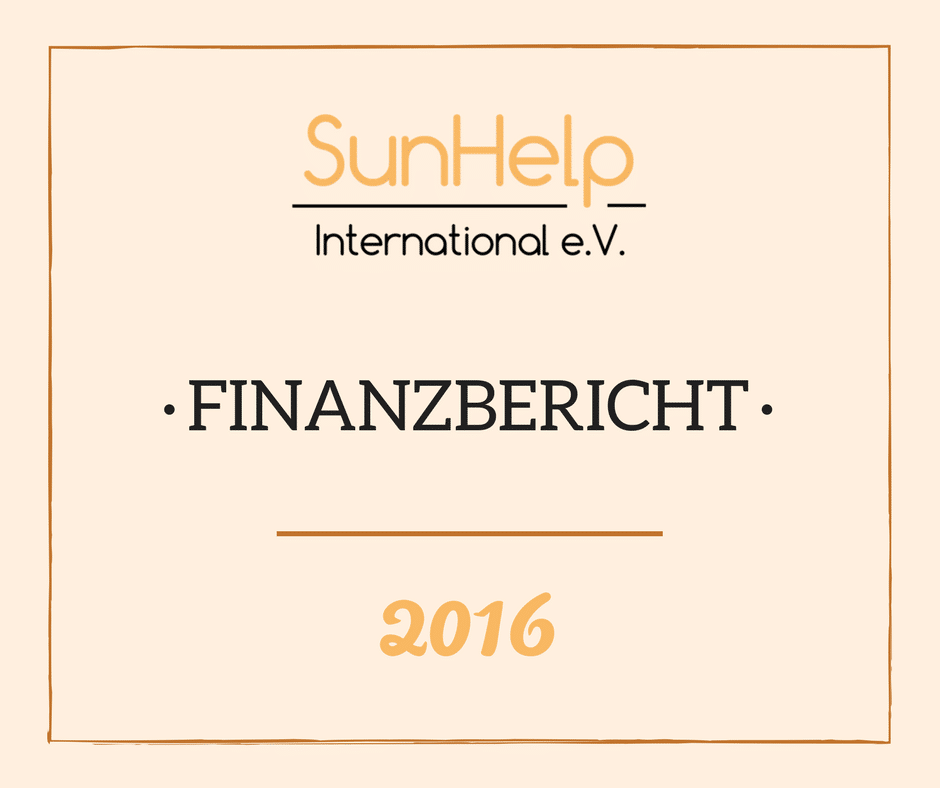SunHelp Finanzbericht 2016 (preview)