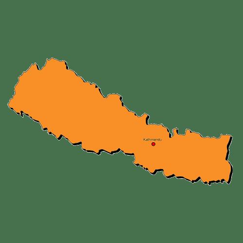 Nepal-Grafik