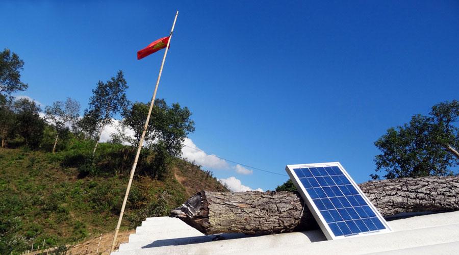 Projekt-Vietnam-Solar-Flagge