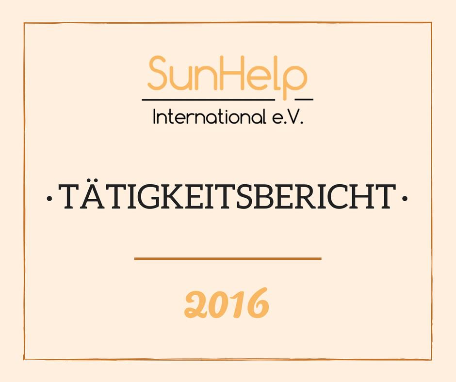 SunHelp Tätigkeitsbericht 2016 (preview)