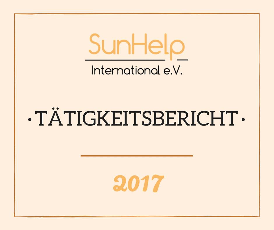 SunHelp Tätigkeitsbericht 2017 (preview)