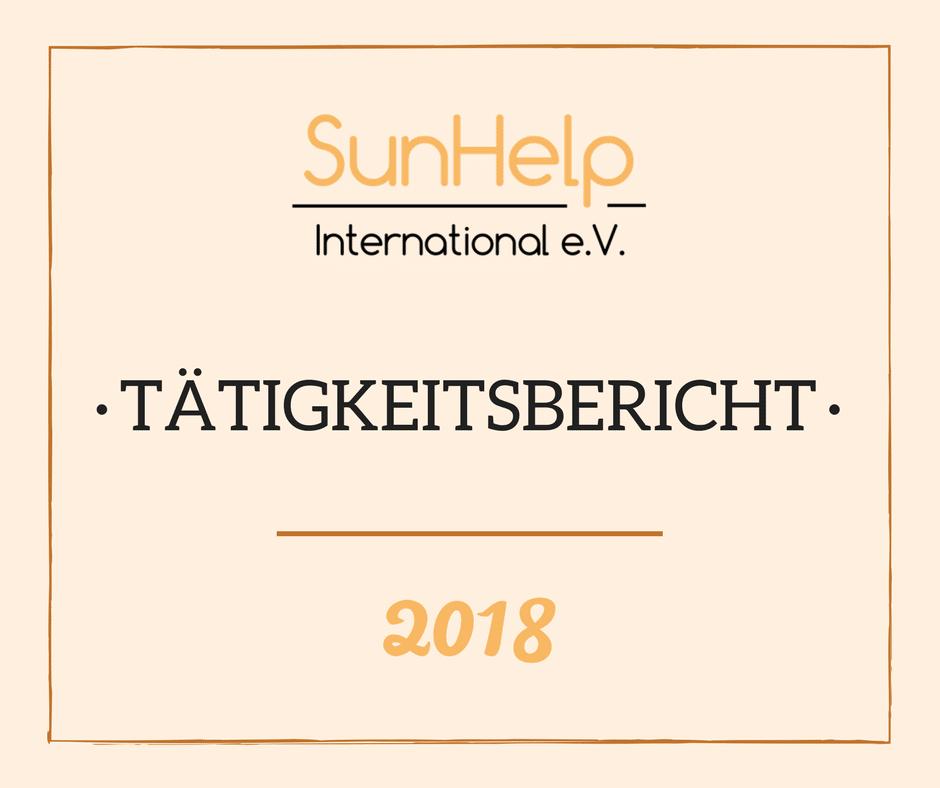 SunHelp Tätigkeitsbericht 2018 (preview)