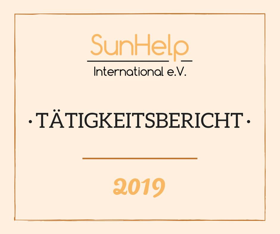 SunHelp Tätigkeitsbericht 2019 (preview)