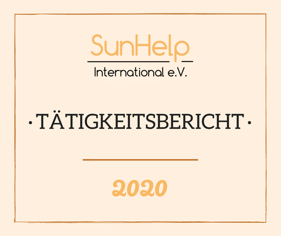 SunHelp Tätigkeitsbericht 2020 (preview)