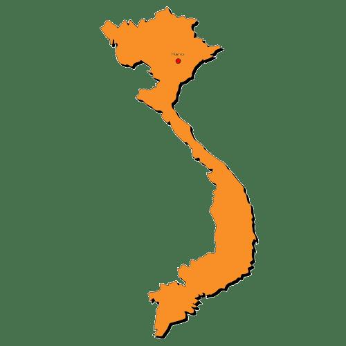 Vietnam-Grafik